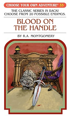 Blood on the Handle By Montgomery, R. A.